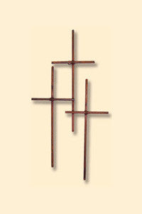 Trinity Iron Wall Cross - Large