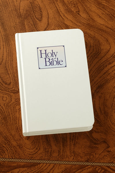 White Baby's First Bible-Compact KJV