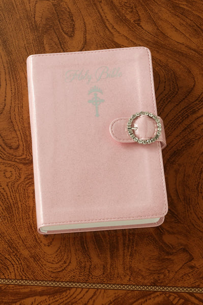 Pink Sparkle Princess Bible Ages 7-12-ICB