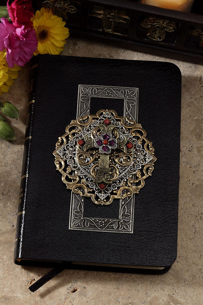 Compact Limited Edition Multi Jeweled Choice of KJV or NKJV RETIRED