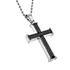 "Iron Cross Black ""Armor Of God"" Ephesians 6:11,12"