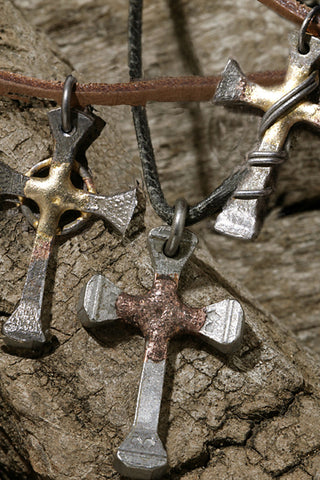Vine Steel Nail Cross