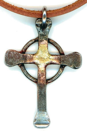 Celtic Steel Nail Cross