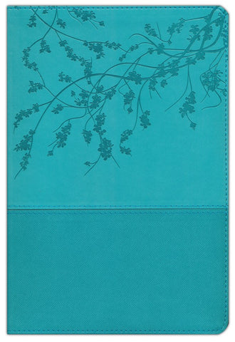 NKJV A Woman After God's Own Heart Study Bible: Teal Imitation Leather