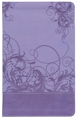 NIV Teen Study Bible Leather Like Spring Violet