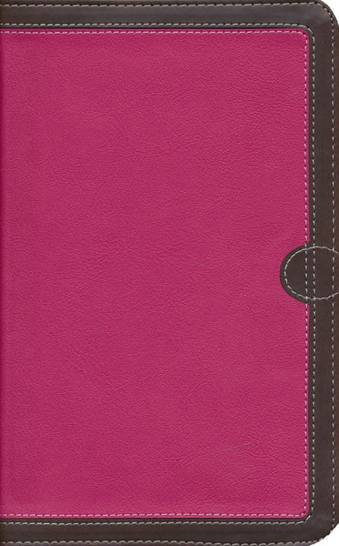NIV Thinline Bible Pink/Chocolate