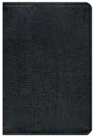 KJV SCOFIELD STUDY BIBLE III BLACK GENUINE LEATHER, THUMB-INDEXED