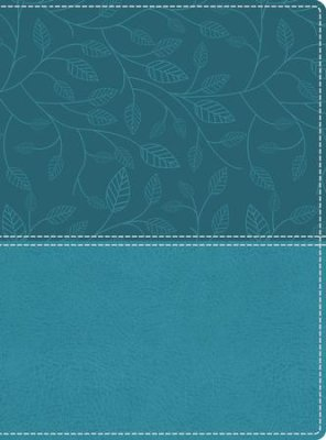 NKJV Beautiful Word Large Print Bible-Soft Leather-Look Turquoise