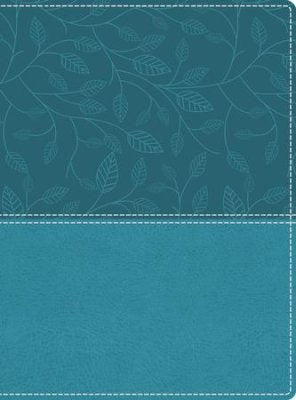 NKJV Beautiful Word Large Print Bible--soft leather-look Turquoise