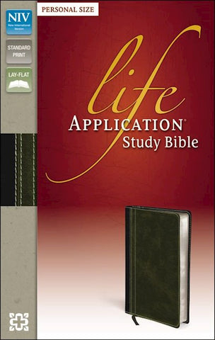 Life Application Study Bible - NIV Bark Dark Moss