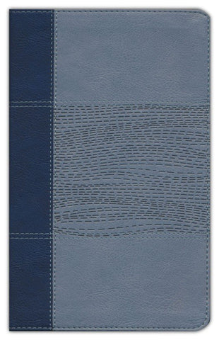 NIV Study Bible/Personal Size (Fully Revised Edition) (Comfort Print)-Navy/Slate Blue Leathersoft Indexed