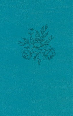 NIV Busy Mom's Bible, Comfort Print, Leathersoft, Teal