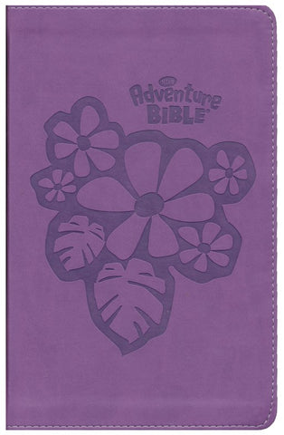 NIrV Adventure Bible For Early Readers (Full Color)-Purple DuoTone