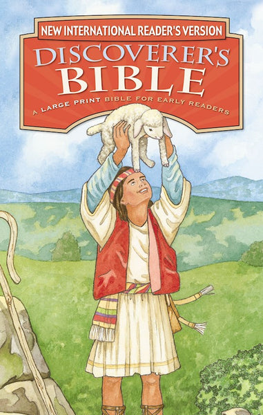 NIrV Discoverers Bible/Large Print (Updated)-Hardcover