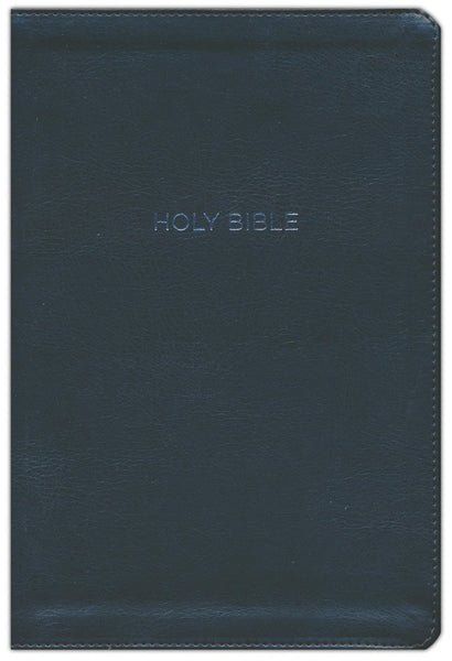 NKJV Thinline Bible Large Print Imitation Leather, Black - Limited Quantities Available