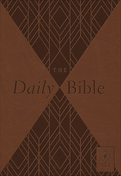 NLT Daily Bible-Brown Milano Softone