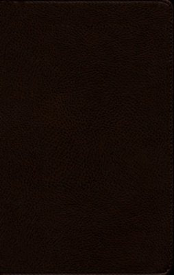 NKJV Minister's Bible - imitation leather, brown (red letter edition)