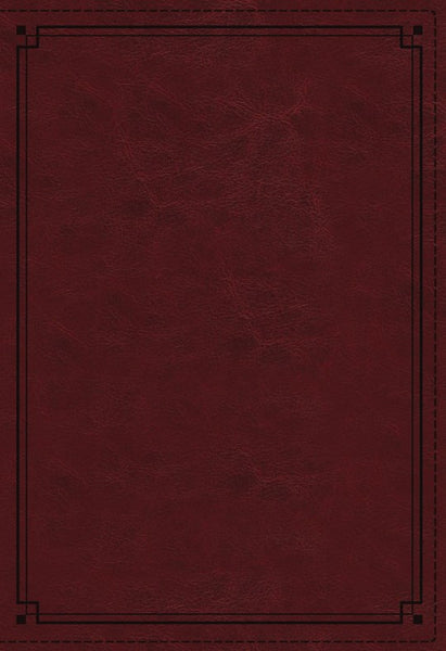 NKJV Study Bible Red LeatherSoft