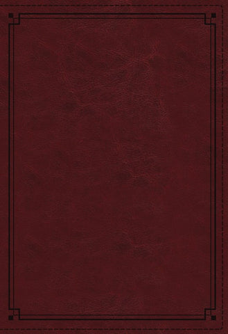 NKJV Comfort Print Study Bible, Imitation Leather, crimson, indexed