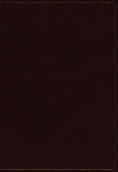NKJV Study Bible (Full-Color) (Comfort Print)-Burgundy Bonded Leather Indexed