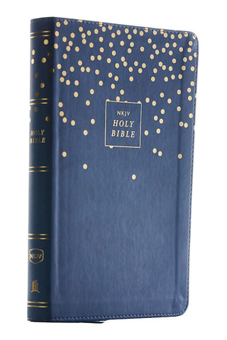 NKJV Thinline Bible/Youth Edition (Comfort Print)-Teal Leathersoft Youth Edition