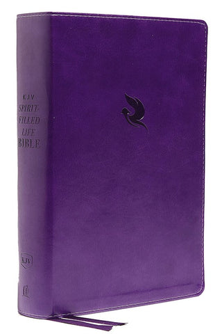 KJV Spirit-Filled Life Bible (Third Edition) (Comfort Print)-Purple Leathersoft