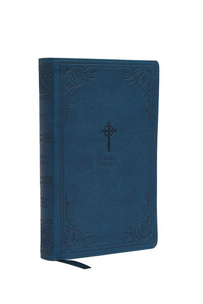 NRSV Catholic Bible, Gift Edition, Comfort Print, Leathersoft, Teal
