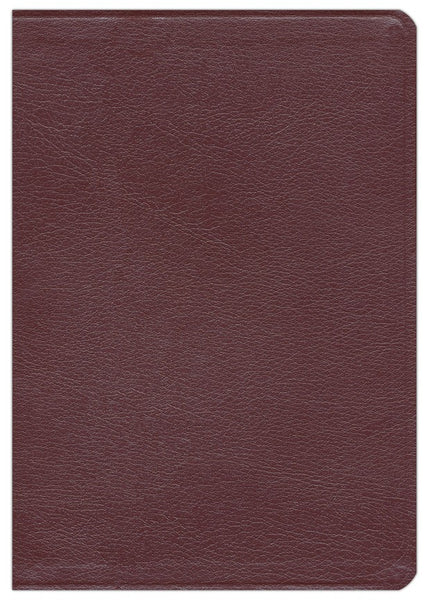 NASB Ryrie Study Bible-Burgundy Bonded Leather
