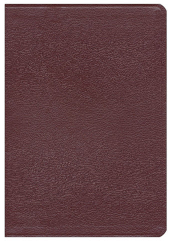 NASB Ryrie Study Bible-Burgundy Bonded Leather Indexed