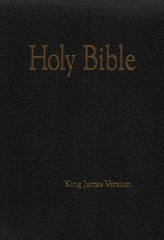 The Original African Heritage Large Print Study Bible (KJV); Leatherette Black