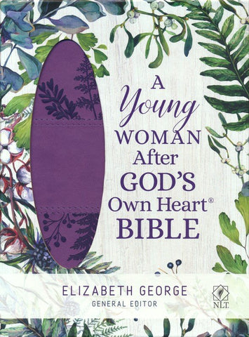 NLT A Young Woman After God's Own Heart Bible-Duotone Deluxe