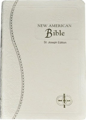 St. Joseph Catholic Brides Bible White-NABRE