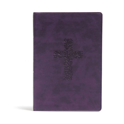 KJV Study Bible (Full-Color)-Purple LeatherTouch