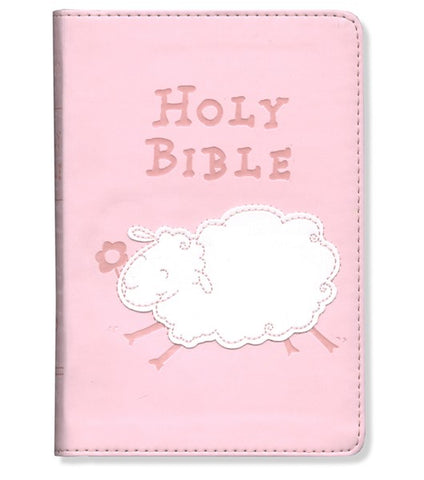 Pink Compact Really Woolly Holy Bible - ICB