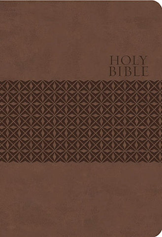 KJV Large Print Study Bible Earth Brown