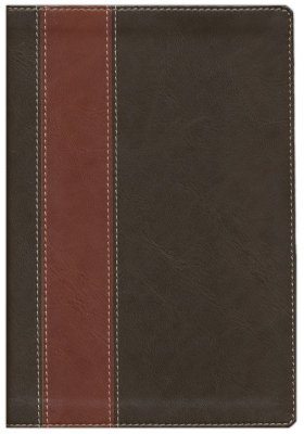 NLT Life Application Study Bible, Personal Size, TuTone Brown/Tan-Limited Quantities