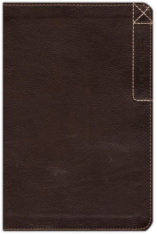 NLT Every Man's Bible-Deluxe Explorer Edition Rustic Brown