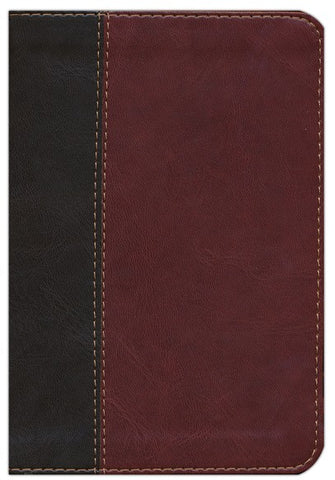 NLT Compact Edition TuTone Imitation Leather, brown/tan