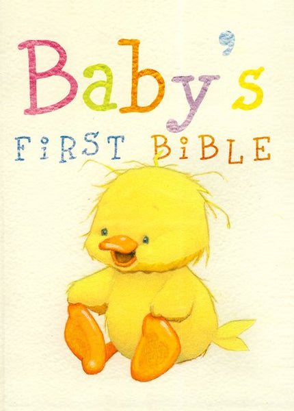 Fuzzy Duckling Baby's First Bible NKJV