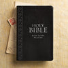 KJV Standard Indexed Bible Black Textured