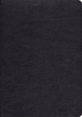 ESV Study Bible - Genuine Leather, Black