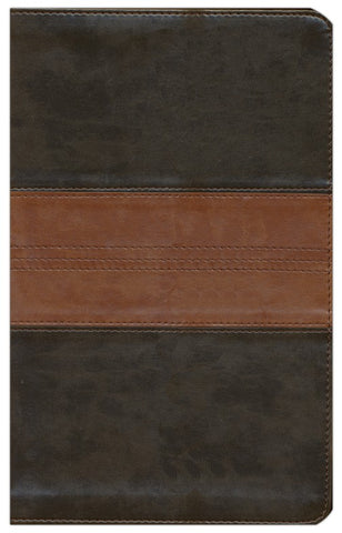 ESV Thinline Bible (TruTone, Forest/Tan, Trail Design)