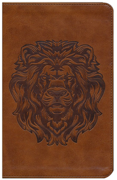 ESV Thinline Bible, TruTone, Royal Lion, Brown