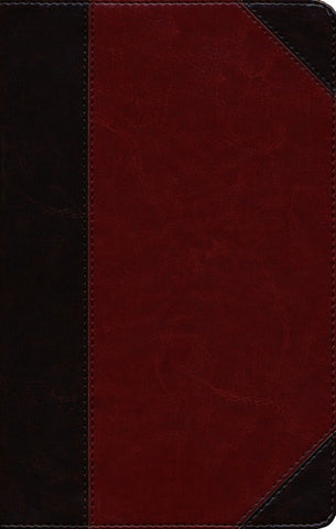 ESV Thinline Reference Bible- Brown/Cordovan