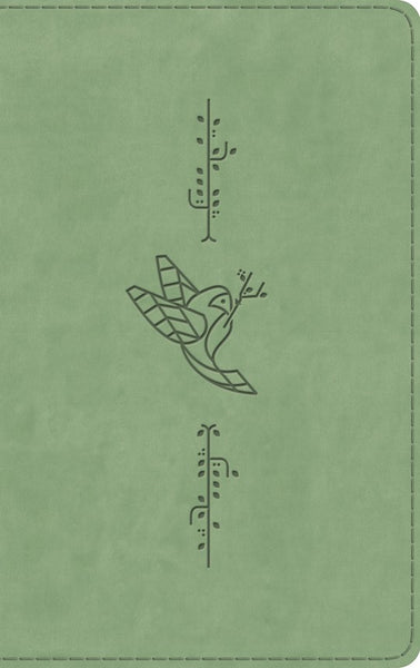 ESV Kid's Thinline Bible-Green Bird Of The Air Design TruTone