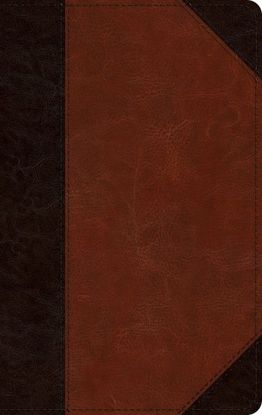 ESV Reference Bible-Brown/Cordovan Portfolio Design TruTone