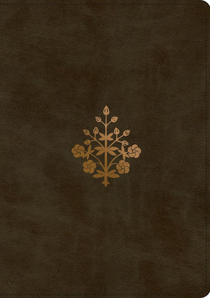 ESV Study Bible-Olive Branch Design TruTone
