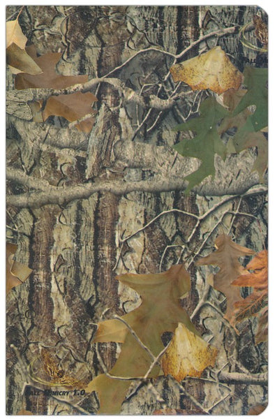 KJV Sportsman's Large Print Bible Mothwing Camouflage
