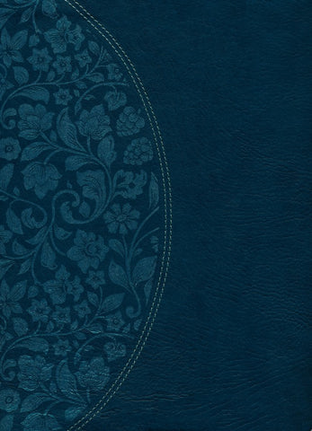 NKJV Holman Study Bible: Large Print Edition, Dark Teal LeatherTouch Indexed