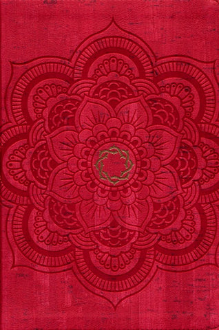 CSB Essential Teen Study Bible, Red Flower Cork LeatherTouch